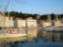 piran, slovenia, water, boats