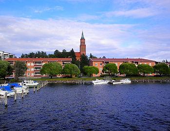 savonlinna, finland, lake