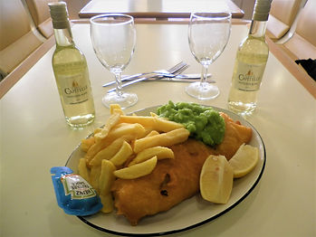 fish and chips, england