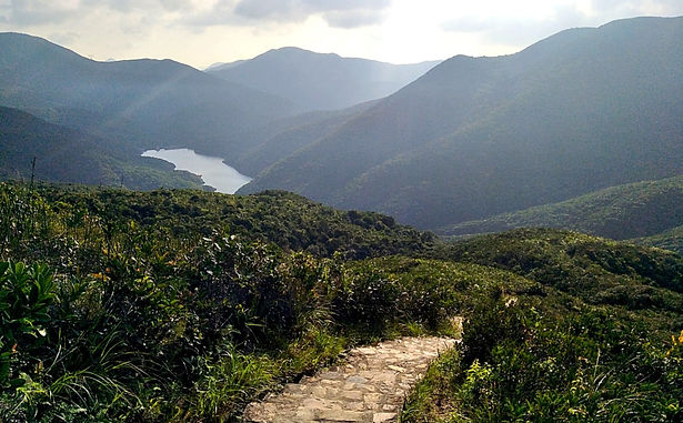 wilson trail, hong kong, hiking, mountains, view