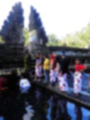 Tirta Empul Ubud Bali Indonesia temple