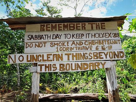 kokoda trail, track, papua new guinea, hike, trek, jungle, mountain, sign
