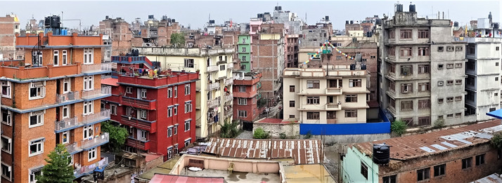 Looking over Kathmandu