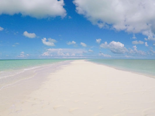 beach, exumas, bahamas