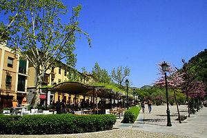 granada, cafe, street, spain