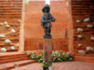 Little Insurgent Monument, warsaw, poland