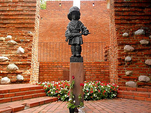 Little Insurgent Monument, warsaw, poland