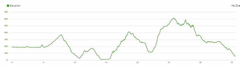 wilson trail elevation profile, ascent, hiking, hong kong, running
