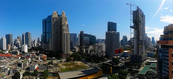 bangkok, thailand, city, view
