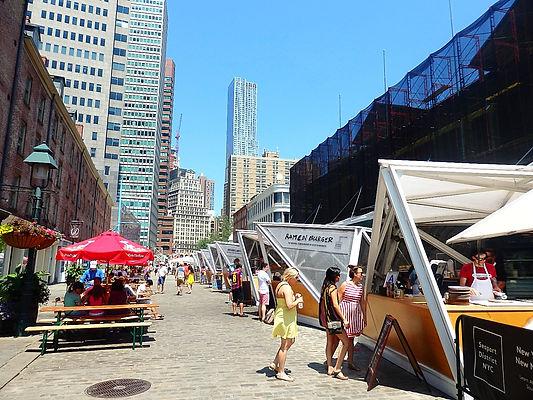 street market, new york city