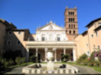 Santa Cecilia. Trastevere, church, rome, italy