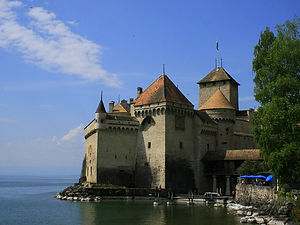 chateaux chillon, montreaux, switzerland