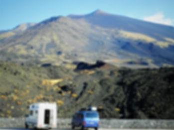 Mt Etna, sicily, italy, volcano