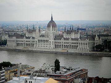 Parliament house, budapest, hungary, danube