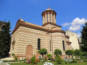 Historic quarter, church, bucharest, romania