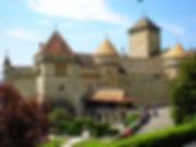 chateaux chillon, montreaux, switzerland
