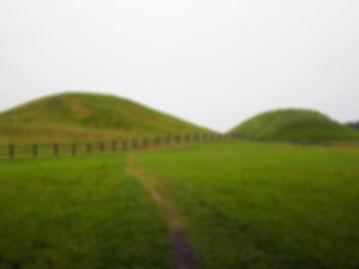 Viking burial mounds, Uppsala, sweden