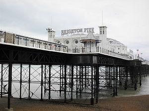 Brighton Pier, brighton, england