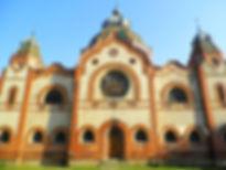Synagogue, subotica, serbia