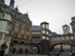 Paulsplatz, frankfurt, germany, old town