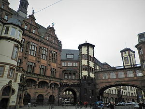 Paulsplatz, frankfurt, germany, old town