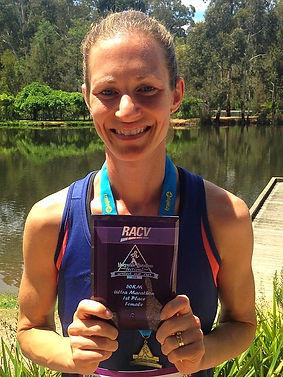 Marysville marathon ultra australia winner trophy