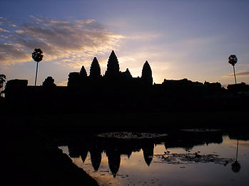 Sunrise, Angkor Wat, siem reap, cambodia