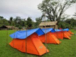 kokoda trail, track, papua new guinea, hike, trek, agulogo, camp, tent