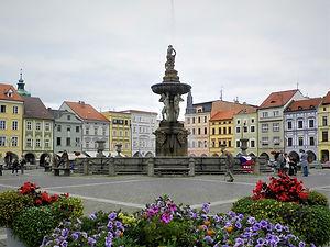 Nam Premysla Otakara II, ceske budejovice, budweis, czech republic