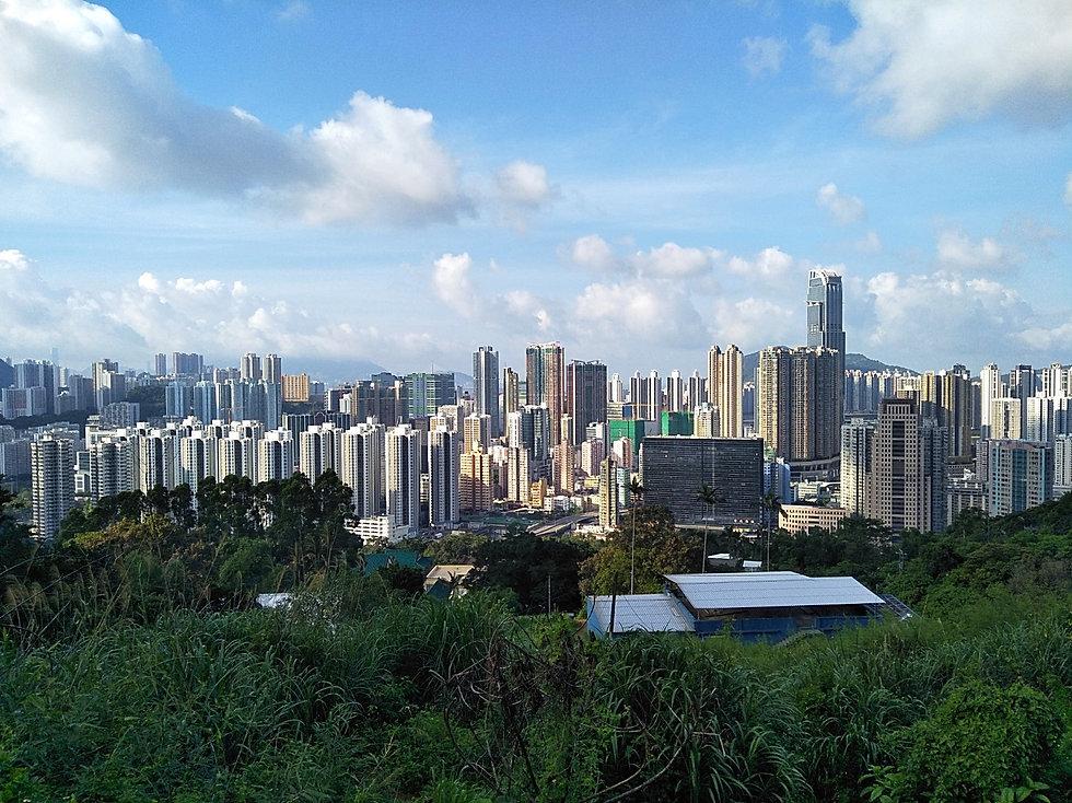 hong kong, trail, mountain, hiking, view, tsuen wan
