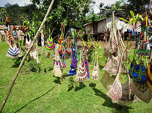 kokoda trail, track, papua new guinea, hike, trek, jungle, mountain, menari, bilum bags