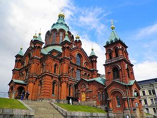 Upenski Cathedral, church, helsinki, finland