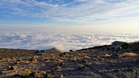 Blanket of clouds