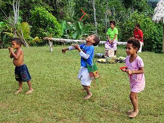 kokoda trail, track, papua new guinea, hike, trek, mountain, jungle, children, play, nauro