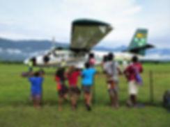 kokoda, airport, papua new guinea, plane, twin otter