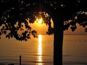 Lake Garda, sunset, verona, italy