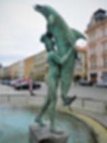 Horni namesti, olomouc, Czech republic, fountain