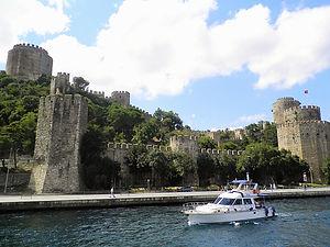 Rumeli Fortress, Bosphorus river, istanbul, turkey