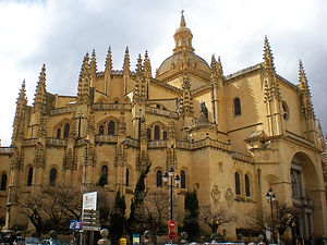 catedral, segovia, spain