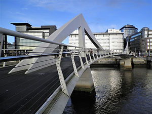River Clyde, bridge, glasgow, scotland