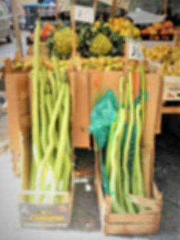 zucchini, Capo market, Palermo, sicily, italy