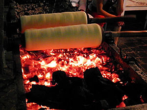 Barrel bread, sighisoara, romania