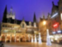 Grote markt, ypres, belgium, market square