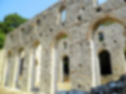 Great Basilica, butrint, albania, ruins