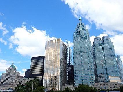 buildings, toronto, canada