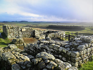 Housesteads, Hadrian's Wall, england