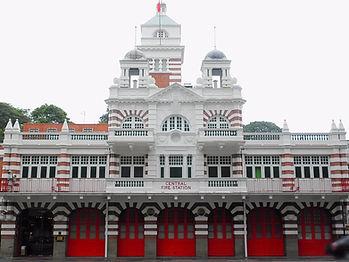 Singapore, fire station
