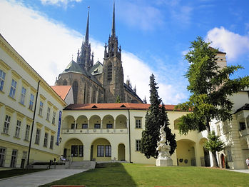 Cathedral of SS Peter and Paul, brno, czech republic