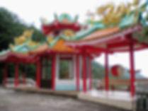 Chinese temple, ko phangan thailand
