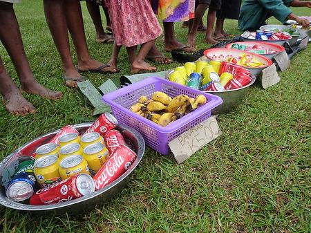 kokoda, trail, track, papua new guinea, isurava, market